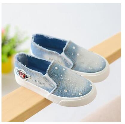 Free shipping 2016 autumn children hole canvas shoes platform shoes girl canvas shoes