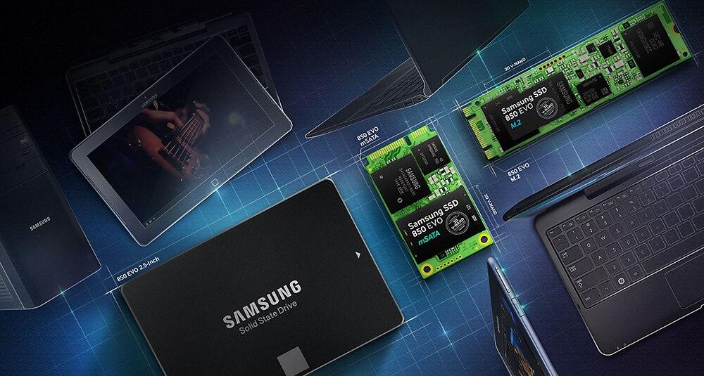 2-Samsung-SSD hard disk internal external hard drive harddisk 2.5 3.5 m2 msata sata NVMe PCIe USB 120GB 240GB 480GB 500GB 1TB 2TB 4TB hdd for computer Desktop tablet kingdian