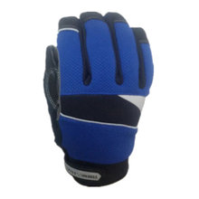 100% waterproof and windproof cut work glove(X-Large,Blue)