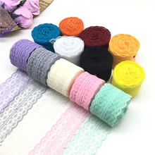 10 Meters Lace Ribbon Tape 45MM Wide Trim Fabric DIY Handicrafts Embroidered Net Cord for Sewing Decoration African Lace Fabric 10 meters lace ribbon tape 45mm wide trim fabric diy handicrafts embroidered net cord for sewing decoration african lace fabric