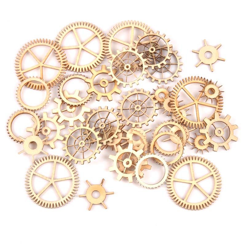 72Pcs mixed natural Wooden gear Wheel Scrapbooking Craft for Embellishments Handmade Accessory Home Decoration 20-40mm MT165372Pcs mixed natural Wooden gear Wheel Scrapbooking Craft for Embellishments Handmade Accessory Home Decoration 20-40mm MT1653