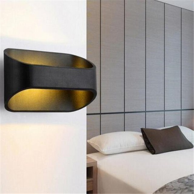 5W LED Wall Lamp Indoor LED Up Down Lights Lamp Warm Light For Living Room  Bed
