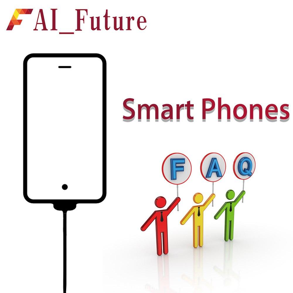 FAQ (foire aux Questions) à propos des téléphones intelligents Question