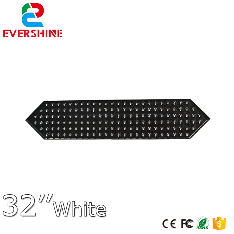 Factory Direct 32 White Color 7 Segment of the Modulesled Gas Station Sign IP65 Gas Station LED Price Sign