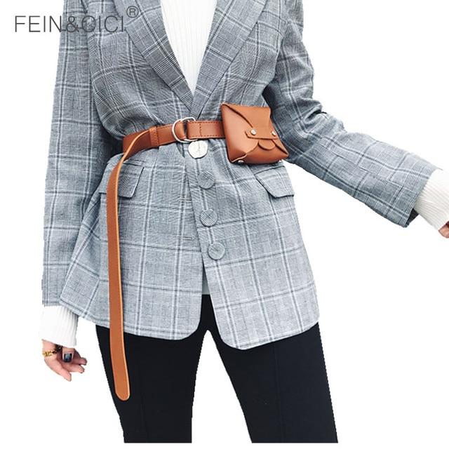 Belt bag women mini rivets Waist bag luxury brand fashion small purse brown black 2018 hight quality