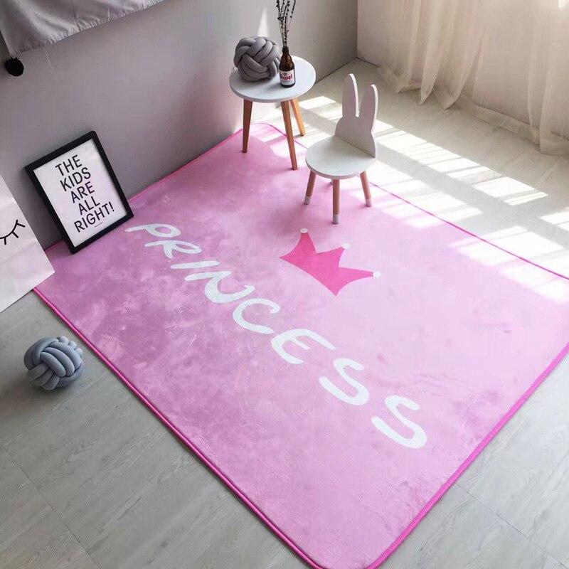 Moda rosa principessa del fumetto gatto volpe disimpegno soggiorno camera da letto decorativo - Camera da letto grande ...