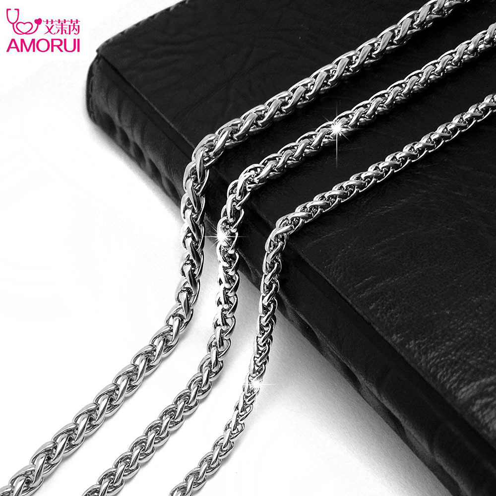 316l stainless steel twisted choker fashion necklaces for. Black Bedroom Furniture Sets. Home Design Ideas