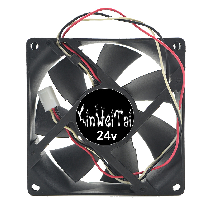 Fan for AVC DA09238B24H DC 24V 0.7A 92x92x38mm computer server inverter Server Square cooling Fans 3-Wire