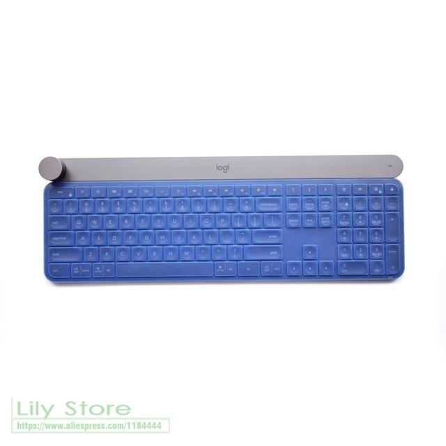 ロジクールクラフトワイヤレスキーボードメカニカルキーボードプロテクタースキンフィルムゲームオフィスデスクトップキーボードアンチダストカバーkeyboard protectorkeyboard skin covercover for keyboard