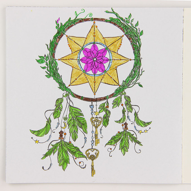 Aliexpresscom Comprar 24 Pginas de Dibujo DIY Libro de Mandalas