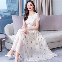 Spring Fashion Women Black Dress 2019 New Style Summer V neck Embroidery Xxxl Female Work Wear Slim Elegant Temperament Dresses