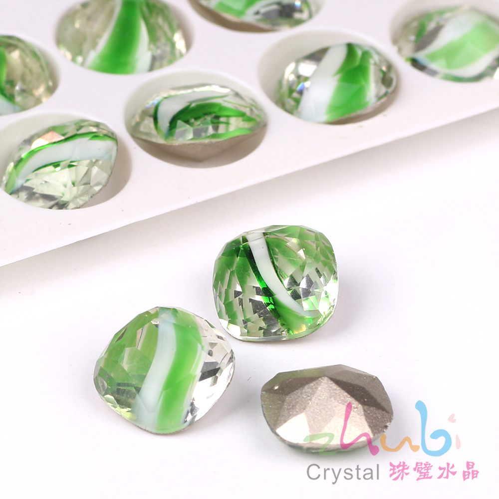 Faceted Crystal Square Stone Beads 10 12MM Czech Glass Loose Flatback  Rhinestones For DIY Making Needlework Accessories Beads-in Beads from  Jewelry ... 33bd2bf6293a