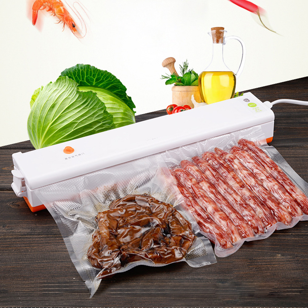 Automatic Electric Vacuum Food Sealer Household Automatic Packing Plastic Sealing Machine Food Vacuum Sealer Film Vacuum Packer automatic vacuum food sealer household food preservation plastic packaging vacuum film sealing machine