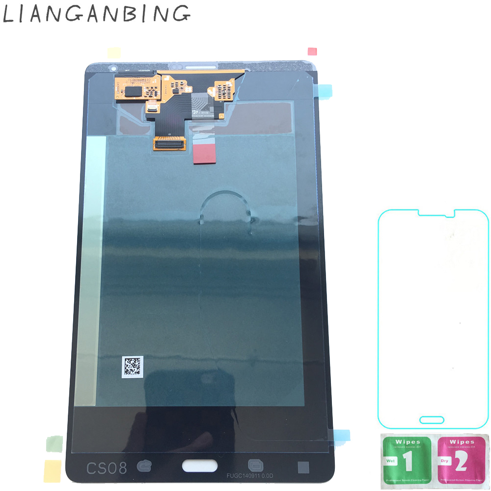 Новый 100% ЖК-дисплей Tab S T705 3g Дисплей Сенсорный экран планшета датчики сборки Панель Замена для samsung Galaxy Tab S T705 3g
