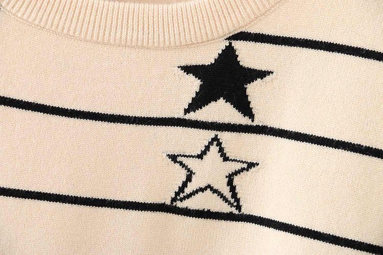 F7 осень-зима Свободные свитеры 4XL плюс Размеры женская одежда модные Свободные Вязание пуловеры 205