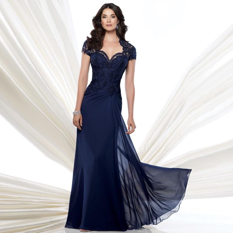 Vestidos ceremonia azul marino