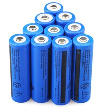 Cncool 3.7V 18650 Battery 5000mAh  Li-ion Rechargeable Batteries for LED Flashlight Cell Drop shipping