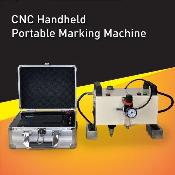 Venda quente CNC Portátil Vin Número Máquina Da Marcação, Marcador Pneumático de Alta Qualidade, Controlador de software integrado e tela sensível ao toque