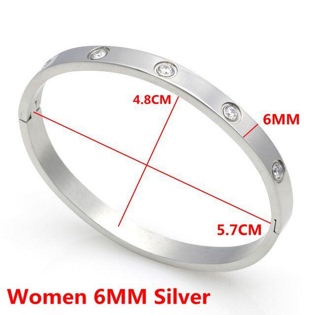 Women 6MM Silver