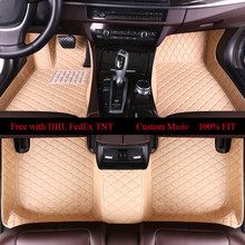 OLPAY Mat Leather Car Floor Mats For Mercedes Benz R-class R300 R320 R350 Custom Auto Foot Pad Automobile Carpet Cover
