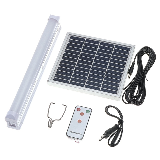 Mising Solar Powered 30 LED Light Bulb Floodlight Outdoor Garden With Remote Control