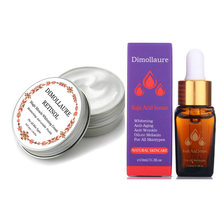 Dimollaure Retinol Cream Whitening Moisturizing kojic acid serum Remove Freckle melasma