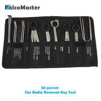 20 Pieces/kits Professional Automotive Interior Audio Stereo Car CD Player Radio Removal Keys Tool Set
