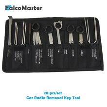 20 шт./наборы Professional автомобильный интерьер аудио стерео автомобиль CD плейер радио ключи для удаления набор инструментов