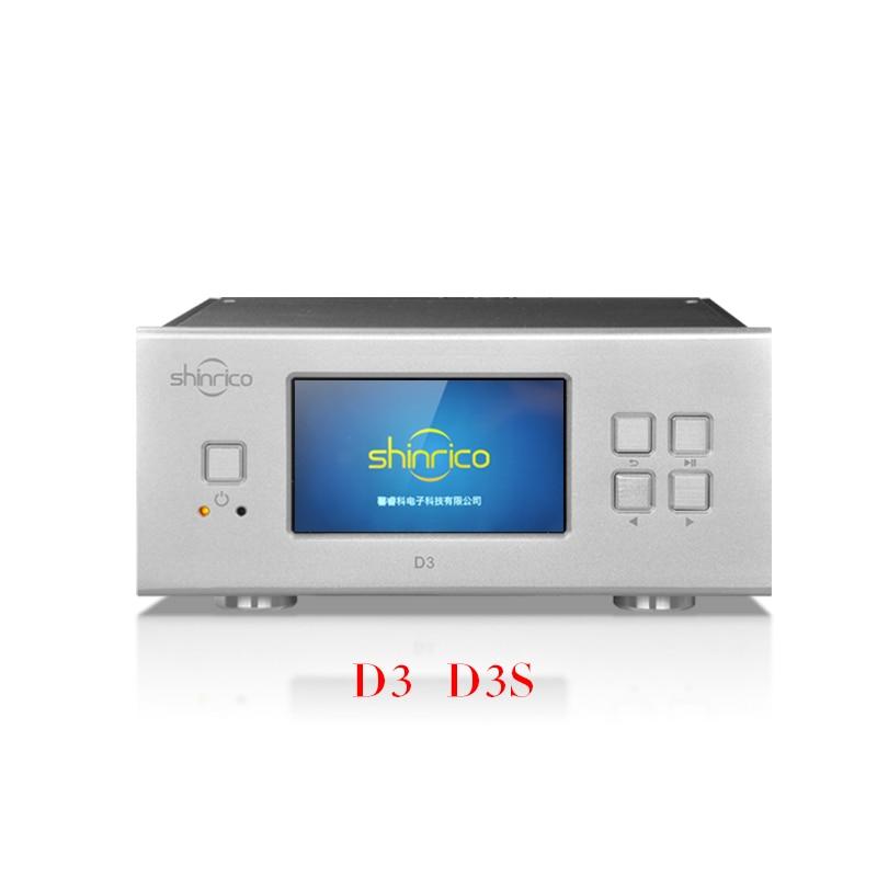 bilder für SHINRICO D3 HIFI Digitale Musik Audio Player Unterstützung 32bit 192 Karat FLAC APE WAV ALAC OGG DSD64 DFF DSF SACD ISO AC220V DC9V eingang