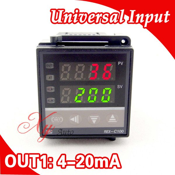 цена на PID digital RKC Temperature Controller Thermocouple/PT100 Input,4-20mA Output,Free shipping
