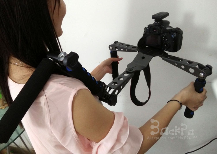 DSLR Rig Shoulder Mount Support Stand Stabiliser for CANON S0NY DV GH3 5D mark II 5D mark III 6D 7D D300s D7000 D610 DSLR Camera штатив canon dv