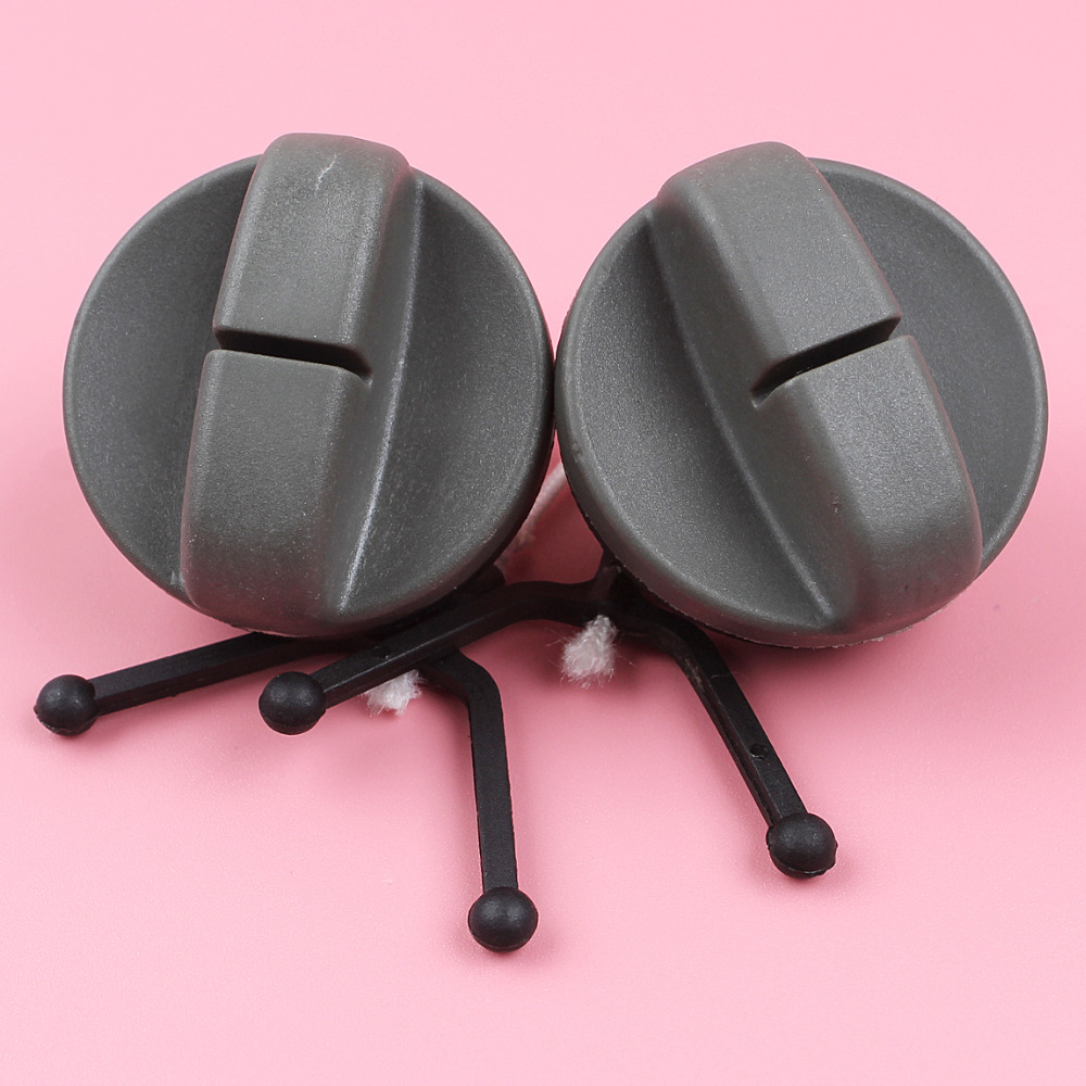 2pcs Fuel Cap For Husqvarna 61 66 266 268 272 285 298 162 Chainsaw Part 501431402