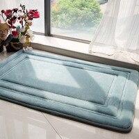 60 90cm New Brand Large Thicken Bathroom Rug Floor Pad Modern Non Slip Bath Mat Mechanical
