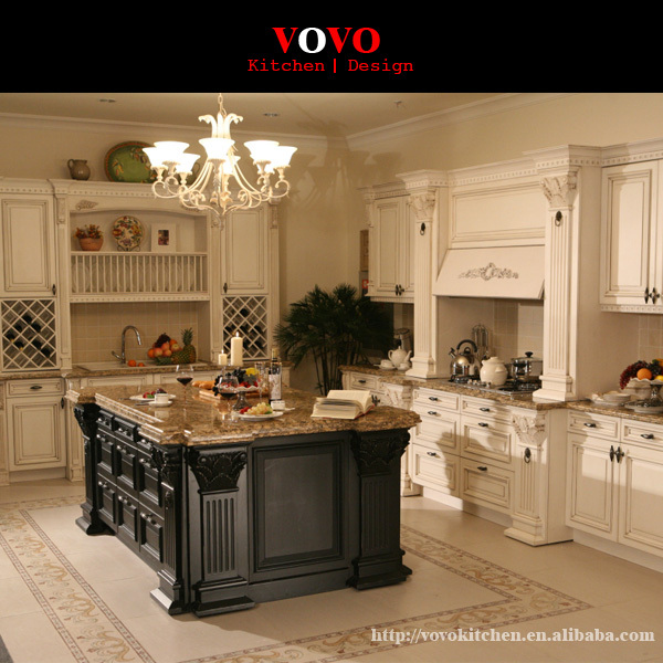 European Style Kitchen Cabinets Solid Wood In Kitchen Cabinets From