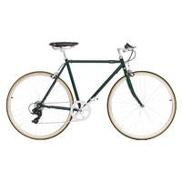 Ретро стальная рама шоссейный велосипед 700C фиксированная передача велосипедная дорожка 7 скоростей велосипед 48 см 52 см Односкоростной вело