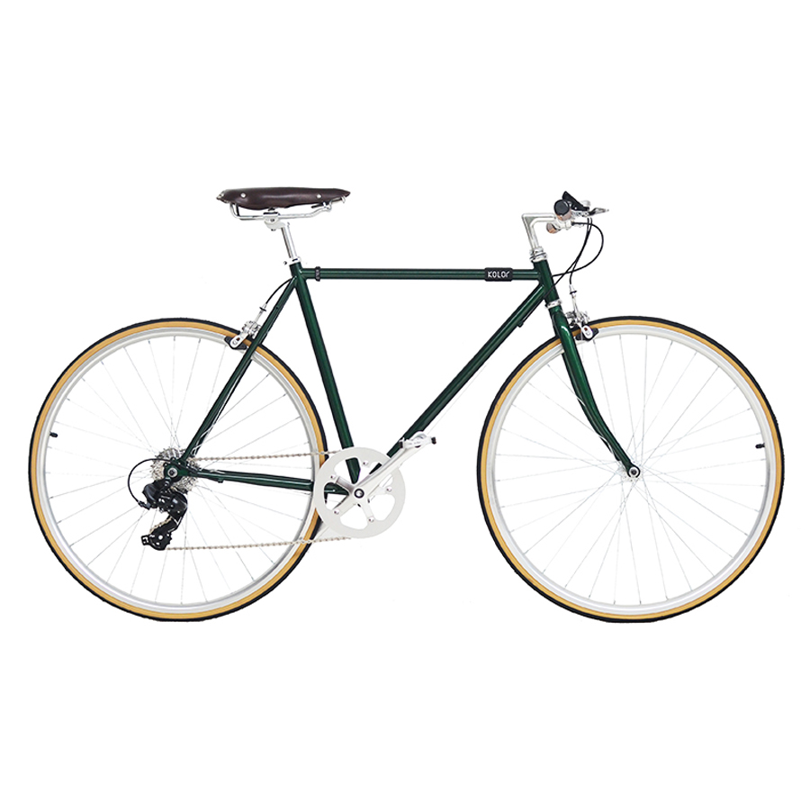 Retro Steel Frame Road Bike   700C Fixed Gear Bike Track 7 Speeds Bike 48cm 52cm  Fixie Bike Vintage DIY Frame
