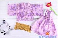японский стиль кимоно младенцы, младенцы костюм, младенцы ползунки, 3 комплект / много