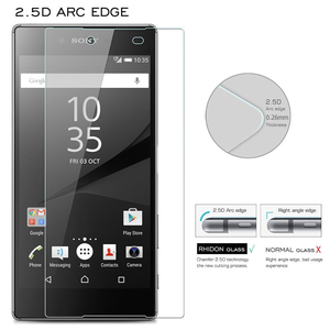 Image 5 - 2PCS Z5 Premium Screen Protector 9H Tempered Glass For Sony Xperia Z5 Premium Dual E6833 E6853 E6883 Z5P plus Protective Glass