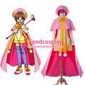 Бесплатная Доставка Cardcaptor Sakura Kinomoto Сакура Костюм Платье Косплей Костюм сделанные на заказ