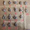 Free ship! 50pcs/lot mixed designs wish pearl necklace pendant cage necklace charm design beautiful pendant