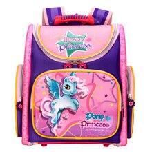2017 orthopädische Atmungsaktiv Marke Tony Prinzessin Schultasche Kinder Cartoon Schultaschen Für Mädchen Jungen Rucksäcke Mochila Infantil