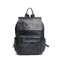 ROCKCOW HANDCRAFTED GENUINE LEATHER BACKPACK TRAVEL BACKPACK LAPTOP BAG SCHOOL BACKPACK 9031