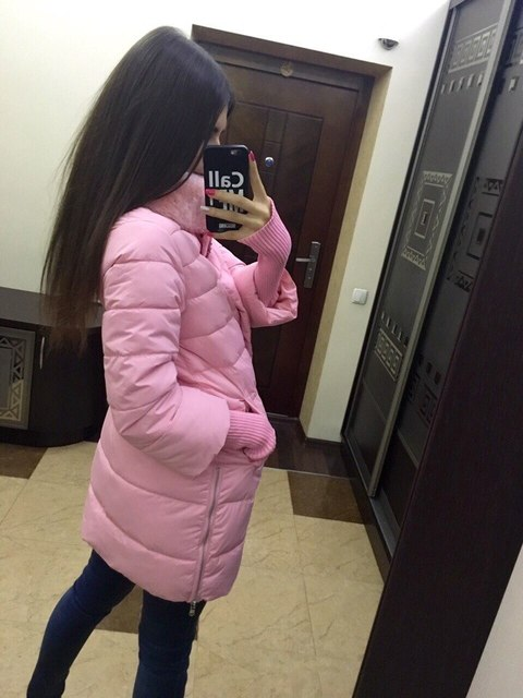 1950 s Mulheres Jaqueta de Inverno 2016 Nova Moda Estilo Europa Solto Médio longo Outono Inverno Plus Size Para Baixo Parkas Senhora Para Baixo Casaco Quente