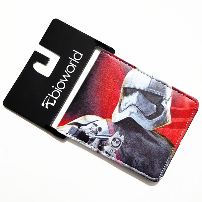 Geanimeerde Cartoon Portemonnee Star Wars Portefeuilles Serie White - Portemonnees en portefeuilles