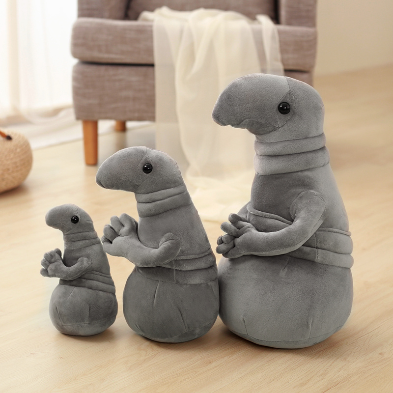 Cute Russian Homunculus Loxodontus Zhdun Snorp Plush Stuffed Animals Toy Gifts for children and grownups школьная книга russian books 0 1 3 russian book for children