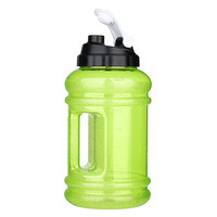 Brand New 2 2L Water Bottle Big Mouth PE TG Training Drink Kettle For Outdoor Picnic