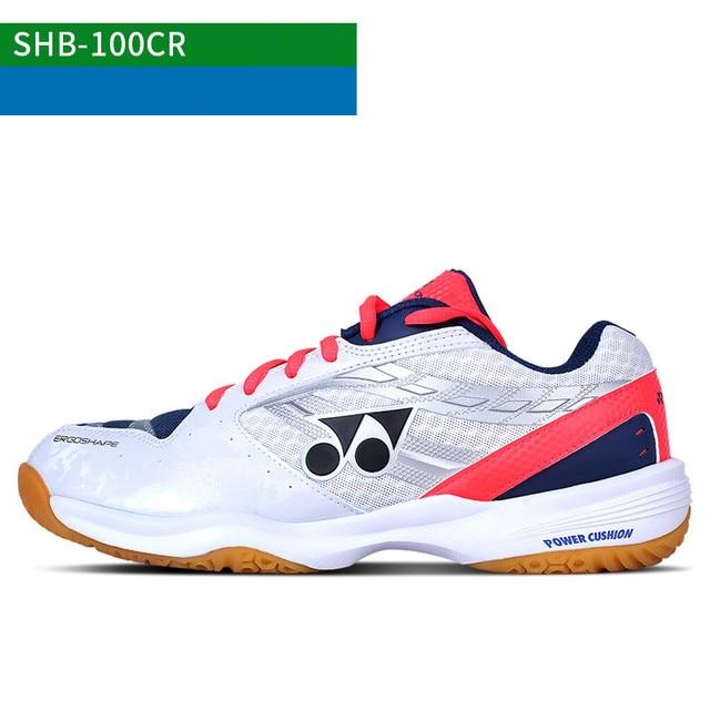 6489f5b2ac10 2018 new arrival YONEX badminton shoes yy SHB 100CR breathable sport  sneakers for men women
