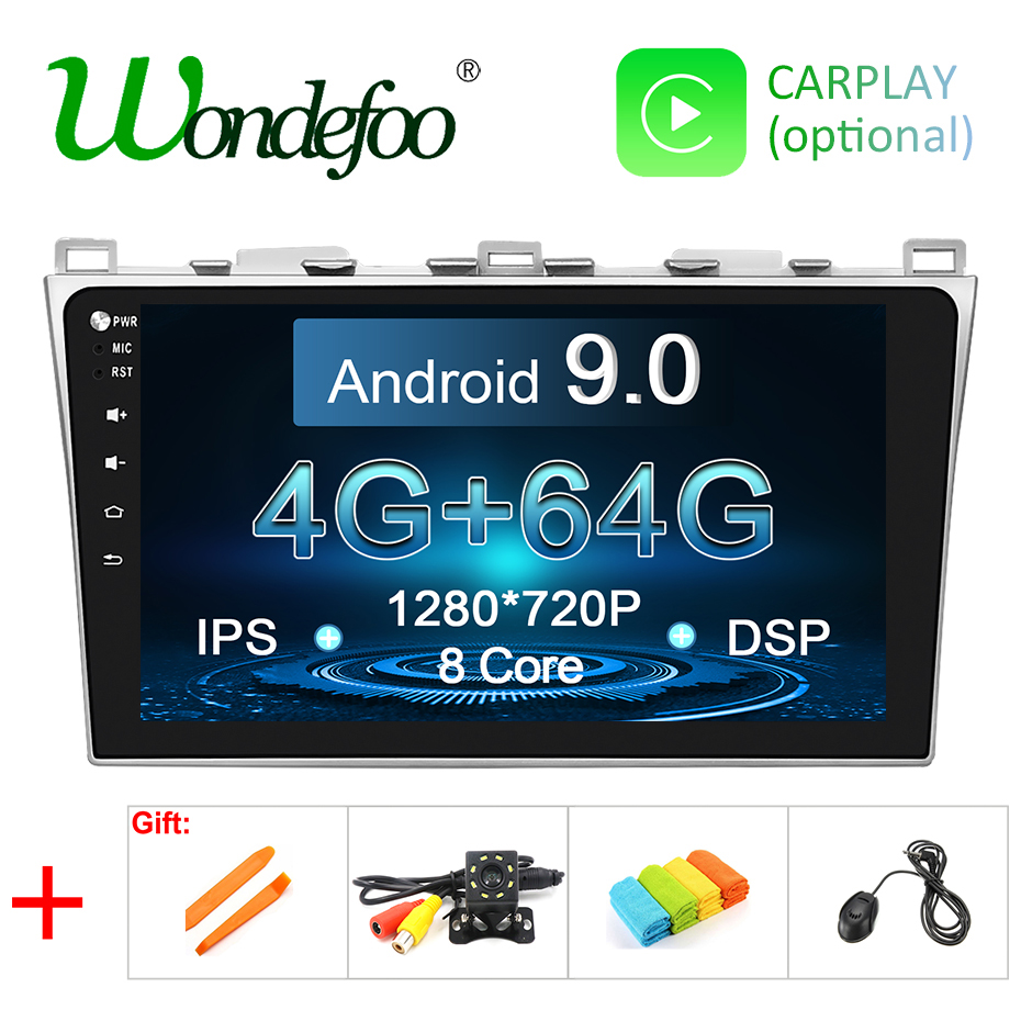 10 1 PX5 DSP IPS 4G 64G Android 9 0 Car GPS For Mazda 6 2008