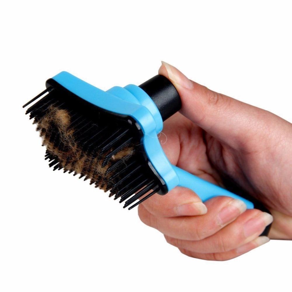 Super Useful Pet Dog Cat Fur Hair Grooming Brush Self