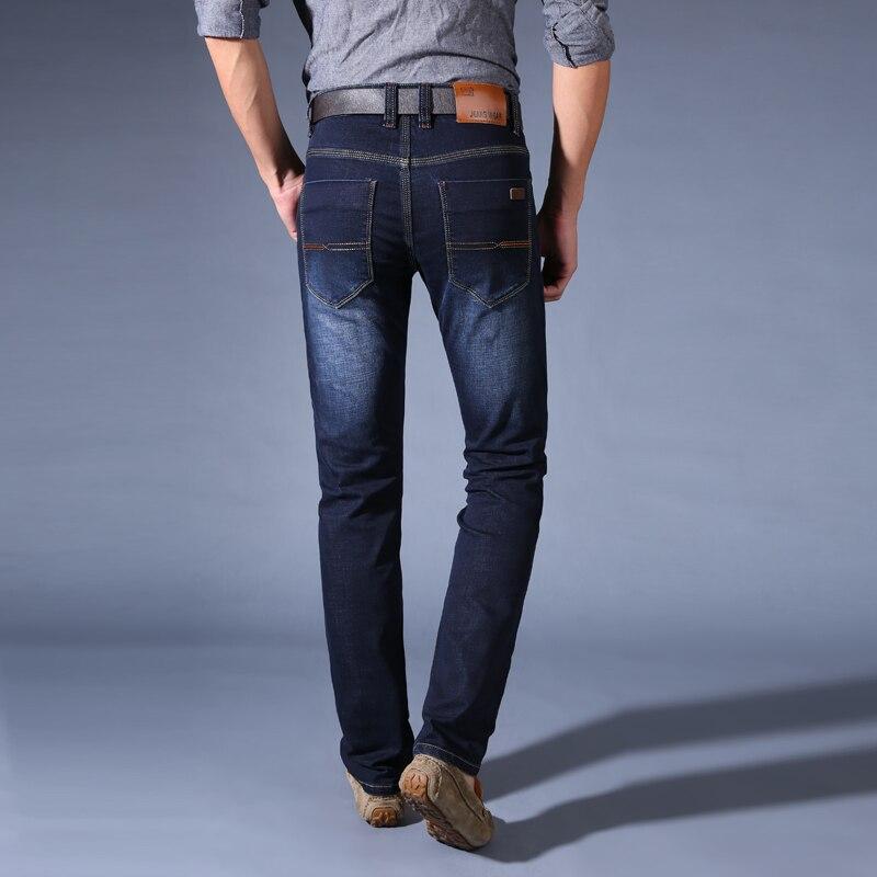 6647e831c0 Hombre Jeans pantalones Pantacourt Homme hombres clásicos Pantalon Jean  Vaquero Hombre Masculina Esportiva negro Heren Biker Jogger en Pantalones  vaqueros ...